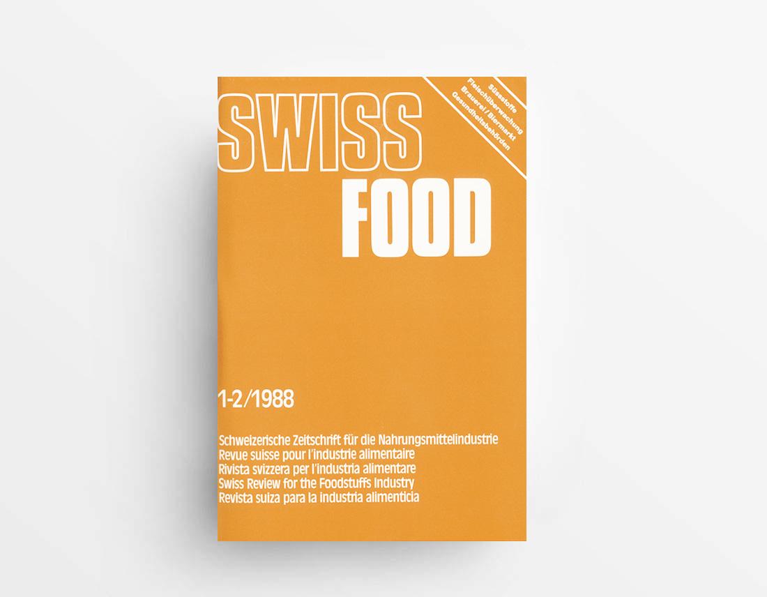 SWISS-FOOD-SCHWEIZERISCHE-ZEITSCHRIFT-FÜR-Nahrungsmittel