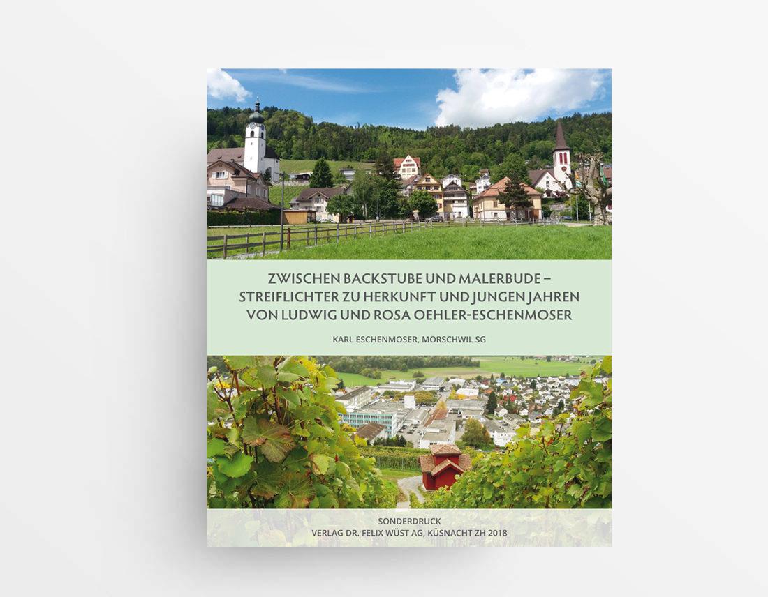 ZWISCHEN BACKSTUBE UND MALERBUDE -ISBN-978-3-033-06022-7